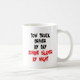 Caneca De Café Assassino do zombi do camionista do reboque