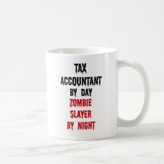 Caneca De Café Assassino do zombi do contador do imposto