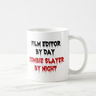 Caneca De Café Assassino do zombi do editor do filme