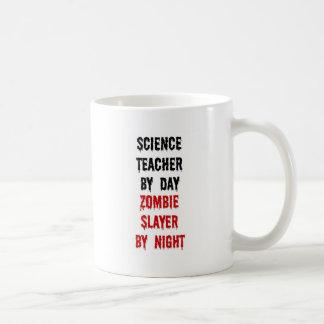 Caneca De Café Assassino do zombi do professor de ciências