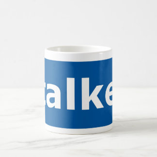 Caneca De Café assediador do facebook