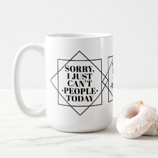 Caneca De Café Assim sobre pessoas | engraçado Introverts as