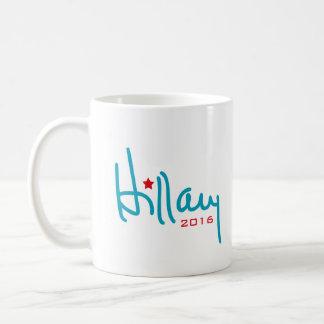 Caneca De Café Assinatura de Hillary Clinton