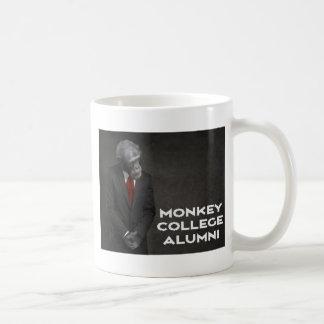 Caneca De Café Associação de alunos da faculdade do macaco