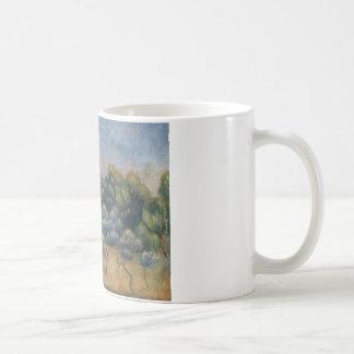Caneca De Café Auguste Renoir - a montanha de Sainte-Victoire