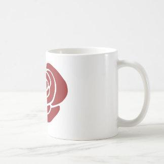Caneca De Café Aumentou o design