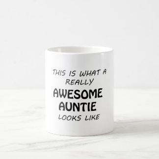 Caneca De Café Auntie impressionante