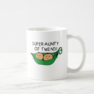 Caneca De Café Aunty super do vagem dos gêmeos