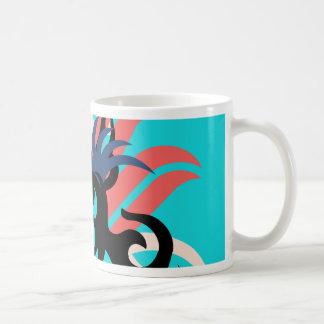 Caneca De Café Aura da abstracção três