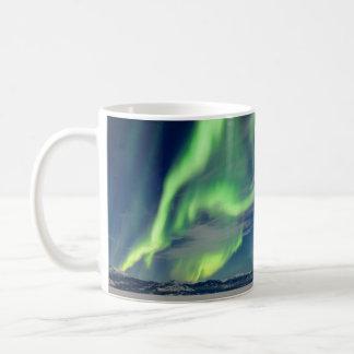 Caneca De Café Aurora boreal espectacular dos borealis da Aurora