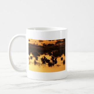 Caneca De Café Aurora - nascer do sol (alimentação dos patos)