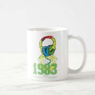 Caneca De Café Auscultadores 1983