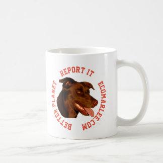 Caneca de café australiana do kelpie