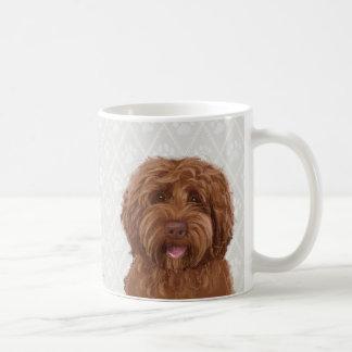 Caneca de café australiana do labradoodle