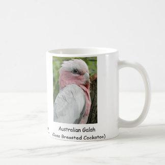 Caneca De Café Australiano Galah (Cockatoo cor-de-rosa de