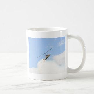 Caneca De Café Autogiro em vôo