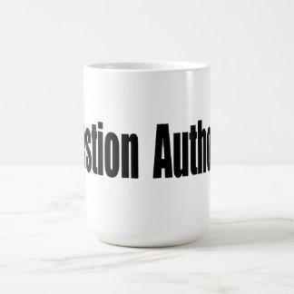 Caneca De Café Autoridade da pergunta