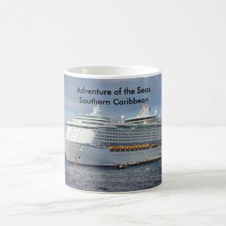 Caneca De Café Aventura do cruzeiro do sul dos mares