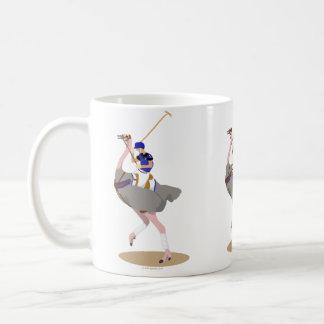 Caneca De Café Avestruz do polo