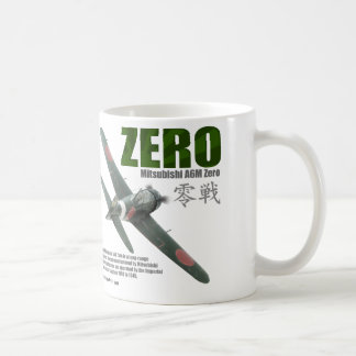 """Caneca De Café Aviation Art mug """"A6M """"Zero""""""""零戦"""