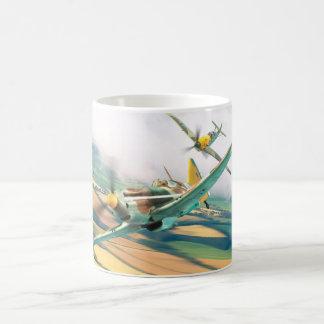 """Caneca De Café Aviation Art mug """"Dewoitine D.520"""""""