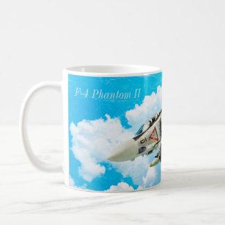 """Caneca De Café Aviation Art Mug """"F-4 Phantom II"""""""