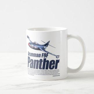 """Caneca De Café Aviation Art mug """"Grumman F9F Panther"""""""