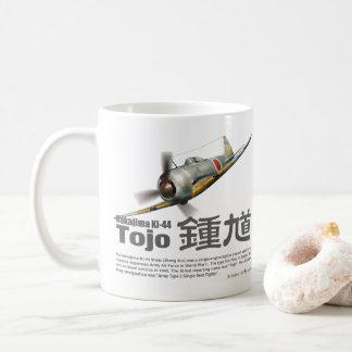 """Caneca De Café Aviation Art mug """"Nakajima Ki-44 Tojo"""""""