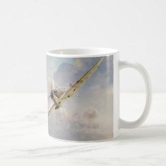 """Caneca De Café Aviation art mug """"Spitfire"""""""