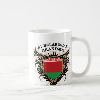 Caneca De Café Avó bielorrussa do número um