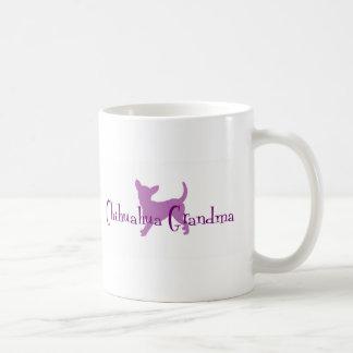 Caneca De Café Avó da chihuahua