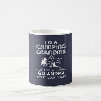 Caneca De Café Avó de acampamento