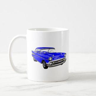 Caneca De Café Azul '57 Shoebox