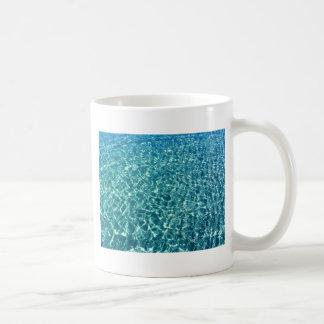 Caneca De Café Azul claro da água