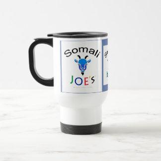 Caneca de café azul da cabra do Billy de Joe