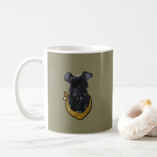 Caneca De Café Azul de Kerry Terrier