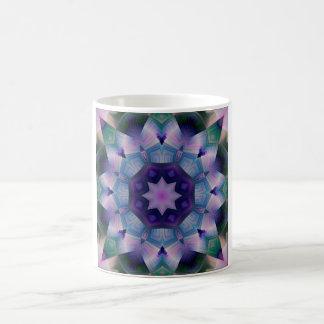Caneca De Café Azulejo decorativo roxo