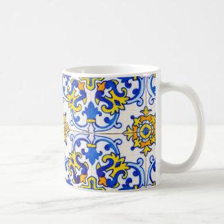 Caneca De Café Azulejos a arte de azulejos portugueses