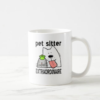 Caneca De Café Baby-sitter do animal de estimação do divertimento