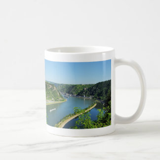 Caneca De Café Bacia do reno a das Loreley
