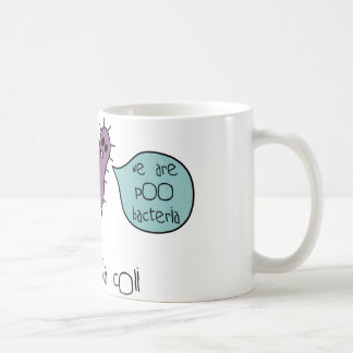 Caneca De Café Bactérias de Poo