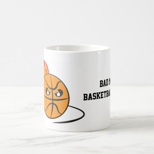Caneca De Café Bad Mood Basketball Coach
