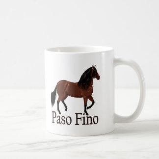 """Caneca De Café Baía """"Paso Fino """" de Paso Fino"""