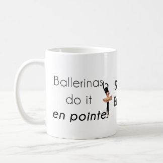 Caneca De Café Bailarinas assim ele!