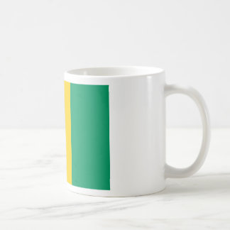 Caneca De Café Baixo custo! Bandeira da Guiné