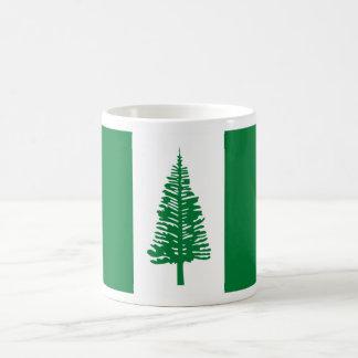 Caneca De Café Baixo custo! Bandeira da ilha Norfolk