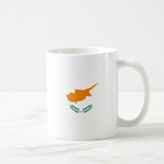 Caneca De Café Baixo custo! Bandeira de Chipre