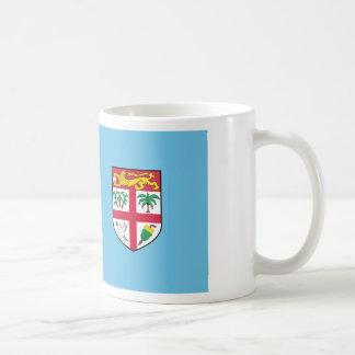 Caneca De Café Baixo custo! Bandeira de Fiji
