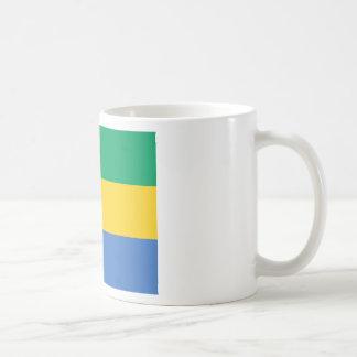 Caneca De Café Baixo custo! Bandeira de Gabon