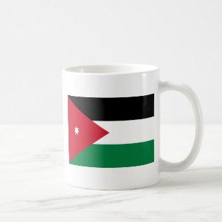 Caneca De Café Baixo custo! Bandeira de Jordão